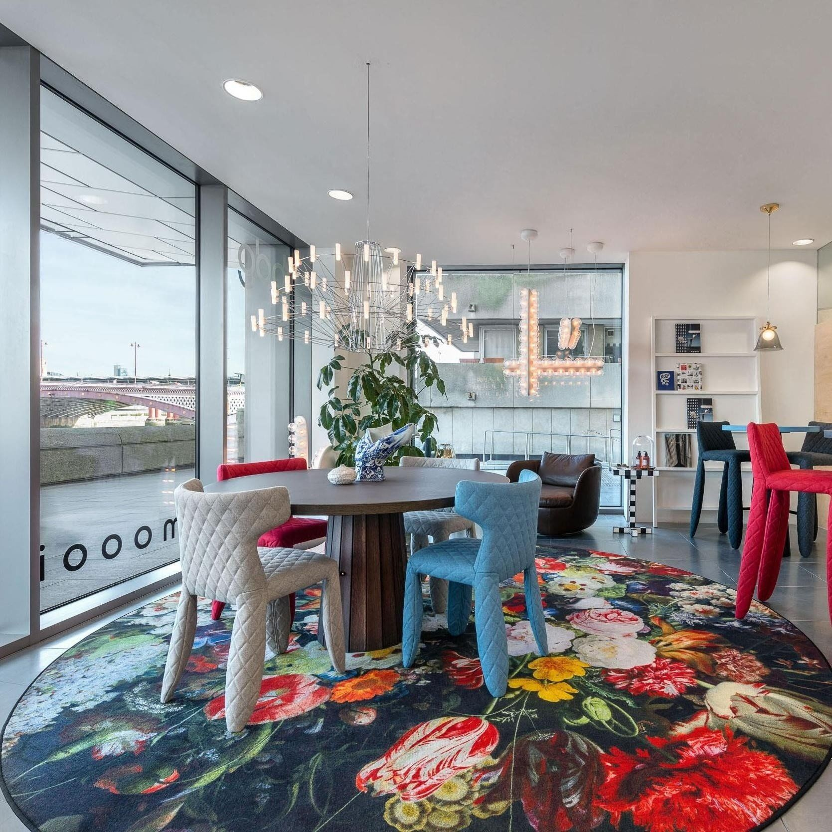 Moooi Carpets Eden Queen Teppich rund | AmbienteDirect