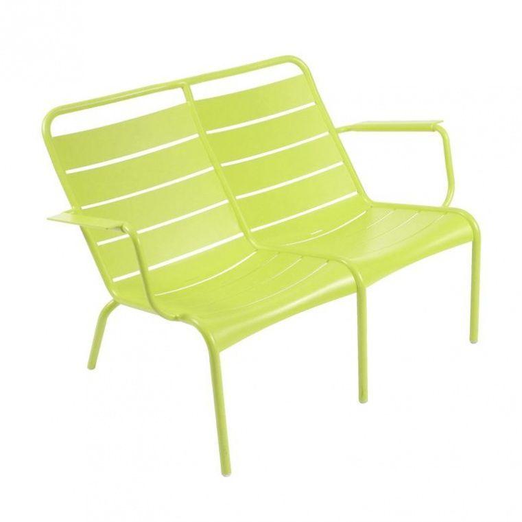 fermob luxembourg low chair duo light green verbenalacqueredlow - Designer Couchtisch Tiefen See