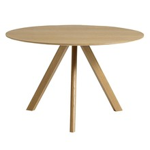 HAY - Copenhague CPH20 Dining Table Veneer Ø120cm