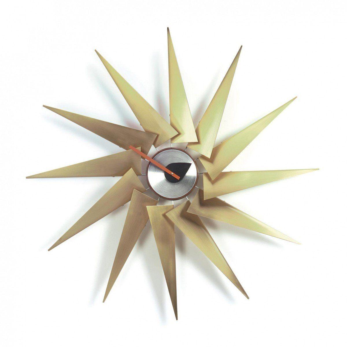 turbine clock nelson - horloge murale | vitra | ambientedirect