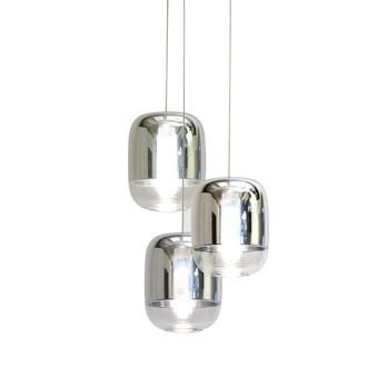 Prandina - Gong Mini 3R Pendelleuchte - verspiegelt/metallisiert/Ø 18cm