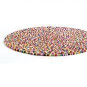 HAY - Pinocchio Teppich - multicolour/Größe 2/Ø140cm