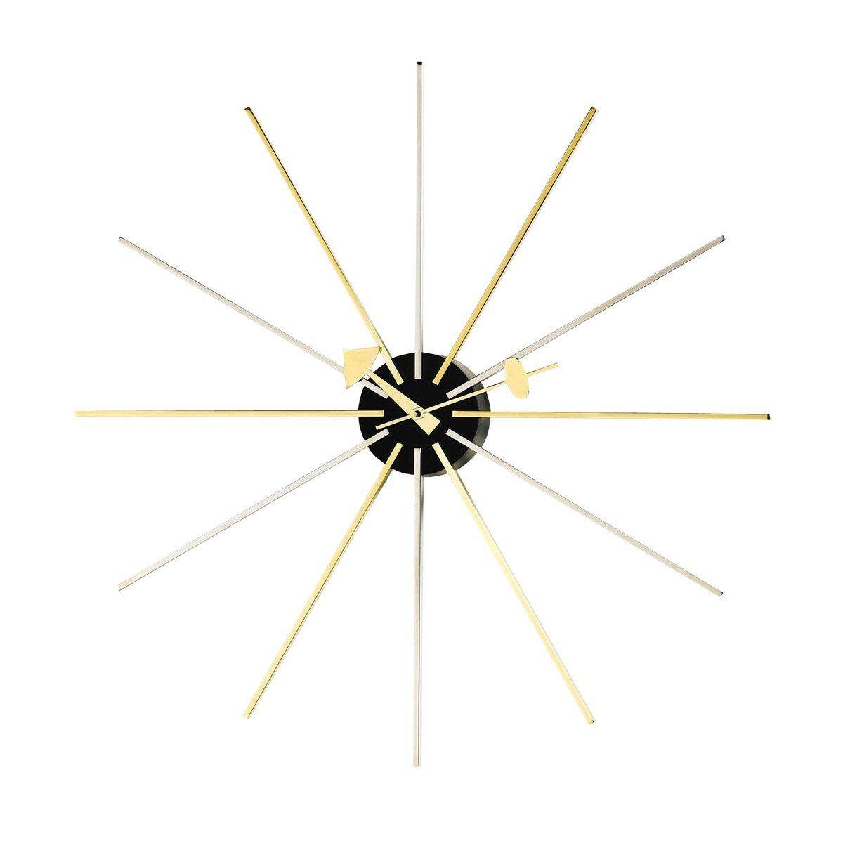 star clock nelson - horloge murale | vitra | ambientedirect