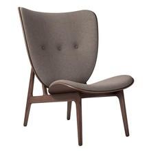 NORR 11 - Elephant Lounge Sessel Gestell dunkel gebeizte Eiche