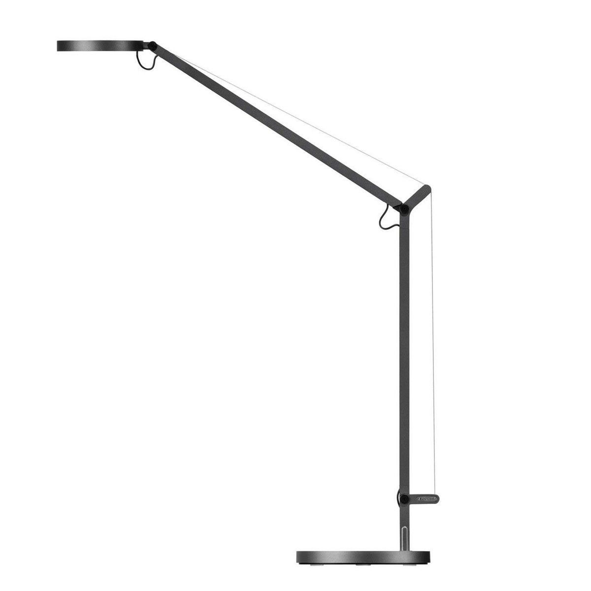 Artemide   Demetra LED Table Lamp   Grey/incl. Touch Dimmer/luminous Colour