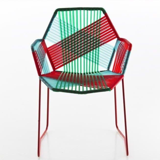 Tropicalia silla con reposabrazos moroso for Sillas con reposabrazos