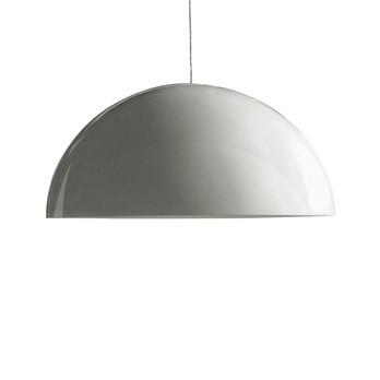 Oluce - Sonora 493 BI Pendelleuchte - opal/PMMA/Ø133cm
