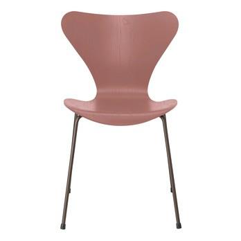 Fritz Hansen - Serie 7™ Stuhl gefärbte Esche Braun Bronze