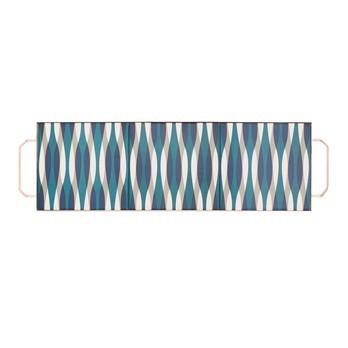 GAN - Mix&Match Tablett rechteckig 60x20cm - blau/68x20x3H cm