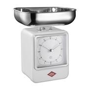 Wesco - Wesco Retro - Balance de cuisine avec horloge