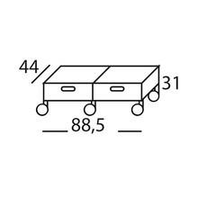 Magis - Plus Unit 2 Drawers