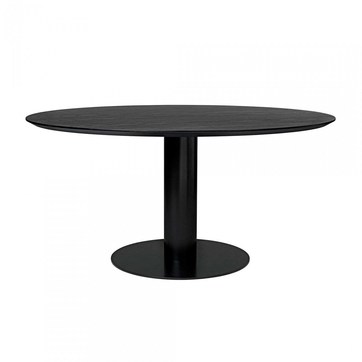 2 0 dining table tisch gestell schwarz 130cm gubi. Black Bedroom Furniture Sets. Home Design Ideas