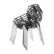 Magis - Chair One 4er Set mit Sitzauflagen