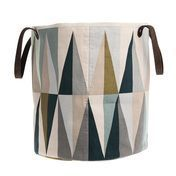 ferm LIVING - Spear Basket - pink/mint/blue/grey/curry/petroleum/Ø35cm