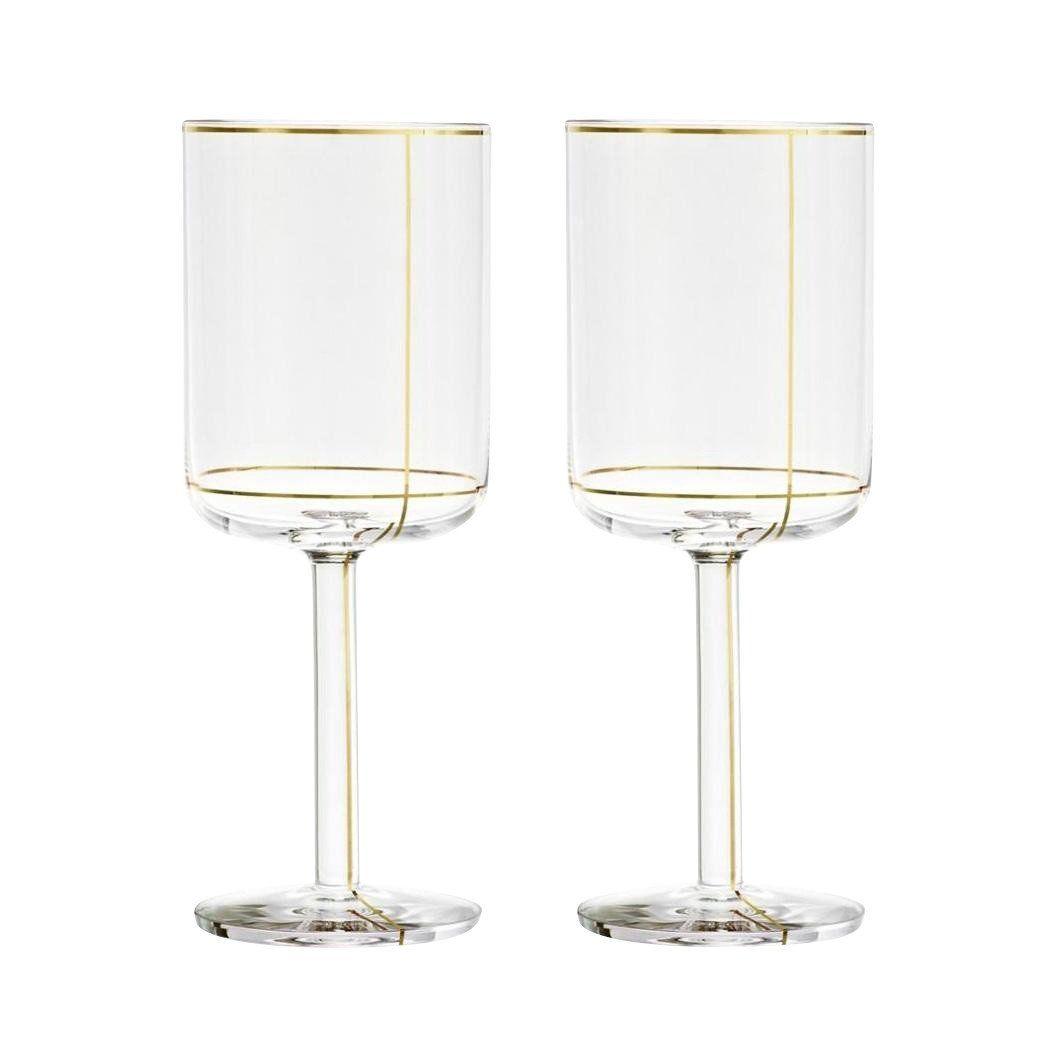 Weißweingläser colour glass weißweingläser set hay ambientedirect com