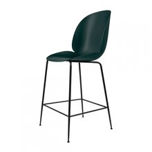Gubi - Beetle Counter Chair Barhocker 65cm Gestell Schwarz