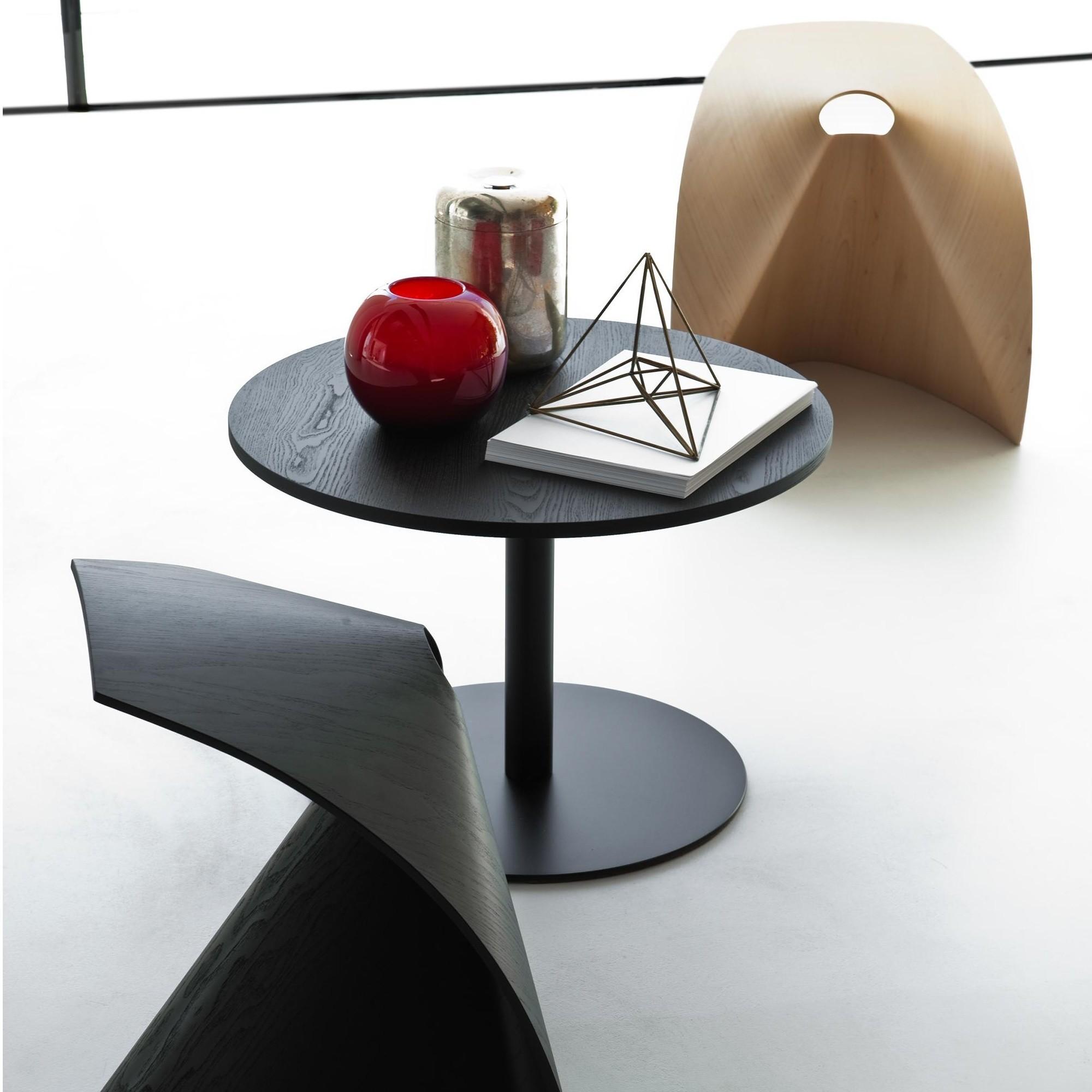 Lapalma Brio Fix Beistelltisch Gestell schwarz H 40cm