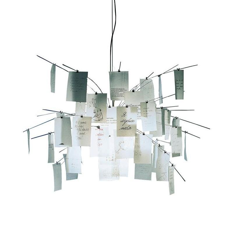 Ingo Maurer Zettelz 5 Suspension Lamp Ambientedirect