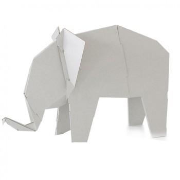 Magis - Me Too My Zoo Elefant Figur - weiß/B x H: 215 x 132cm/Größe 2