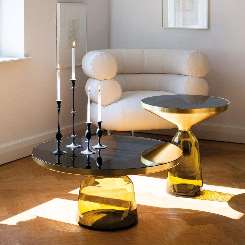 Bell coffee table brass classicon ambientedirect classicon bell coffee table brass geotapseo Choice Image