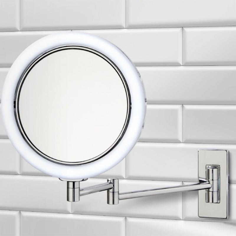 Decor walther bs 13 led miroir mural avec clairage - Miroir avec eclairage led ...