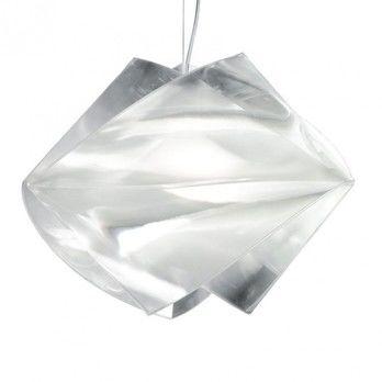 Slamp - Gemmy Prisma Pendelleuchte - transparent/prisma/Ø42cm