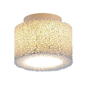 Serien - Reef Ceiling Lamp - ivory/frame alu matt