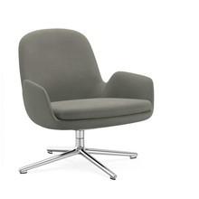 Normann Copenhagen - Normann Copenhagen Era Lounge Chair Low Drehstuhl Alu