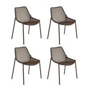 Emu Round Garden Table Chair Lounge Chair Ambientedirect