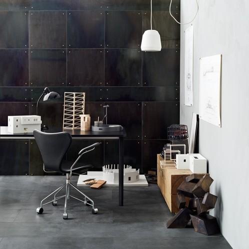 Fritz Hansen - Serie 7 Dreharmlehnstuhl / Bürostuhl