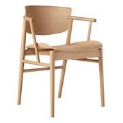 Fritz Hansen - Chaise avec accoudoirs N01™