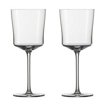 Zwiesel 1872 - Wine Classics Wasserglas 2er Set - transparent/mundgeblasen/345ml/H19,3cm/Lieferung in Geschenkbox