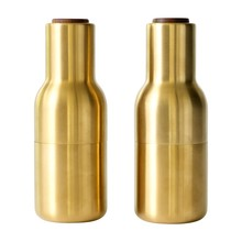 Menu - Bottle Grinder Set of 2 Brass