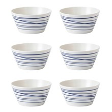 Royal Doulton - Pacific Lines Müslischale 6er Set Ø15cm