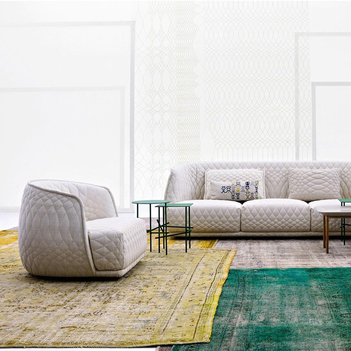 redondo armchair moroso. Black Bedroom Furniture Sets. Home Design Ideas