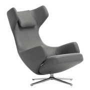 Vitra - Grand Repos Lounge Chair Premium Leather