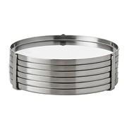 Stelton - Cylinda Line Gläseruntersetzer 6er Set
