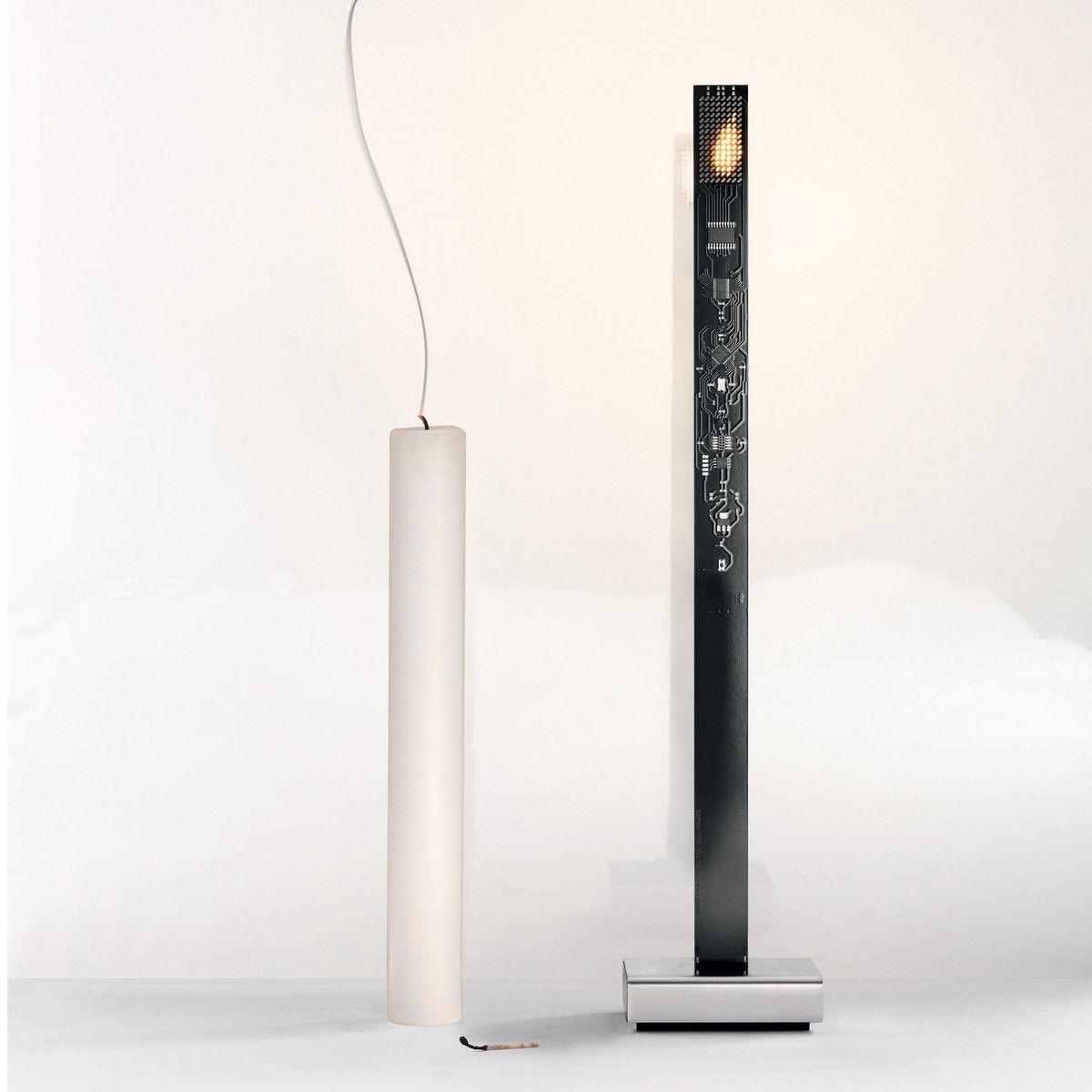 my new flame led tischleuchte ingo maurer. Black Bedroom Furniture Sets. Home Design Ideas