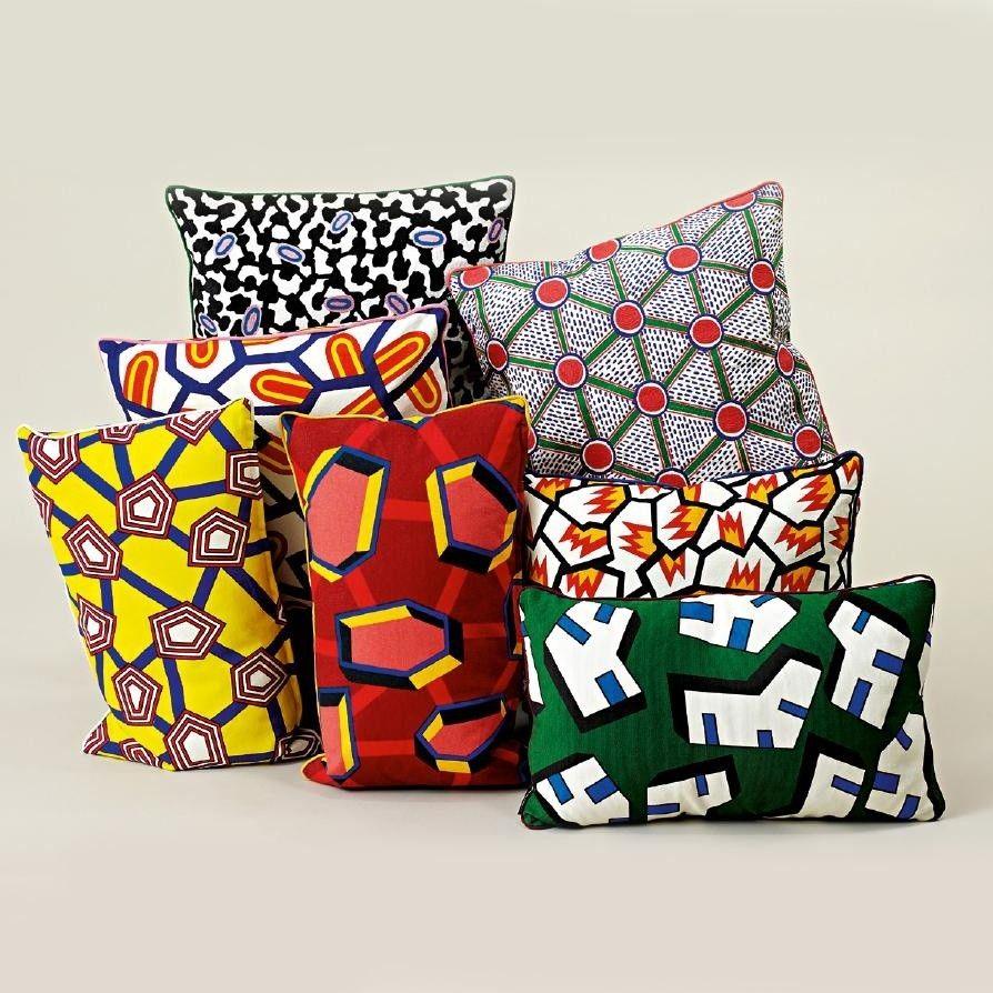 Kissen Hay kissen printed cushion hay ambientedirect com