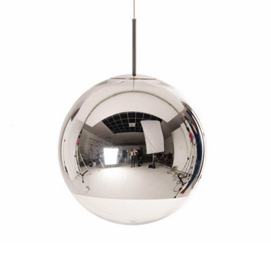 mirror ball pendant suspension lamp tom dixon. Black Bedroom Furniture Sets. Home Design Ideas