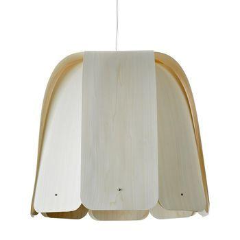 LZF Lamps - Domo SP Pendelleuchte - elfenbein/matt/L38 x B38 x H38cm/ohne Leuchtmittel/Dimmer