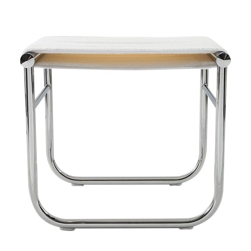 Cassina Le Corbusier Lc9 Bath Stool Ambientedirect