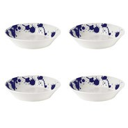 Royal Doulton - Pacific Splash pastaschaal set van 4 Ø22cm