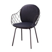 Magis - Piña Chair Upholstered with Steel Base