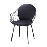 Magis - Piña Stuhl gepolstert mit Stahlgestell