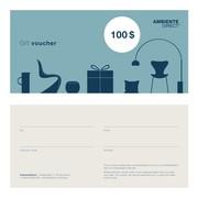 AmbienteDirect - Design Geschenkgutschein USD
