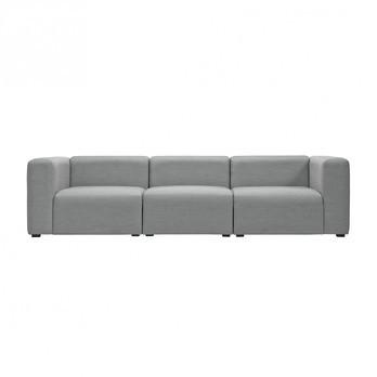 HAY - Mags 3-Sitzer Sofa Stoff Surface 268.5x95.5x67cm - grau/Stoff Surface 120