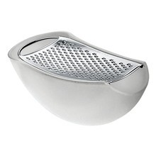 Alessi - Parmenide Grater With Cheese Cellar