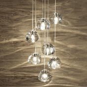 Terzani: Brands - Terzani - Mizu 7 Cluster Lamp