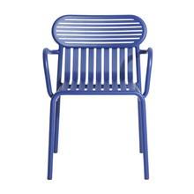 Petite Friture - Chaise de jardin avec accoudoirs Week-End Bridge
